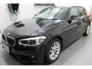 BMW 1シリーズ 118i プラスパッケージ パーキングサポートパッケージ ドライビングアシストパッケージ 衝突被害軽減ブレーキ クルーズコントロール 車線逸脱警告 ETC2.0 LEDライト フィルム施工済み