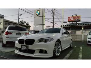 BMW 5シリーズ 523iツーリング Mスポーツ 黒革 サンルーフ液晶メーター LEDライト