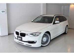 BMWアルピナ B3 ビターボ ツーリング ベージュレザー/ALPINA専用エアロ/アルピナ20インチホイール/オートテールゲート/ハーマンカードンサウンド/HDDナビ/地デジ/ETC