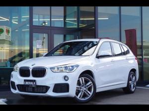 BMW X1 xDrive 18d Mスポーツ アドバンスド・アクティブ・セーフティPKG コンフォートPKG ACC HUD LEDヘッドライト ドライビングアシストプラス 電動リアゲート 純正HDDナビ/Bカメラ シートヒーター ミラー型ETC