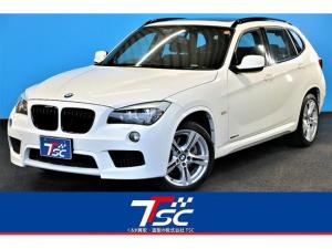 BMW X1 xDrive 25i Mスポーツパッケージ 4WD/カロッツェリアHDDナビ/サンルーフ/ドライブレコーダー/バックカメラ/スマートキー&プッシュスタート/パワーシート/ISOFIX対応シート/オートライト/キセノンヘッドライト/禁煙車/ETC