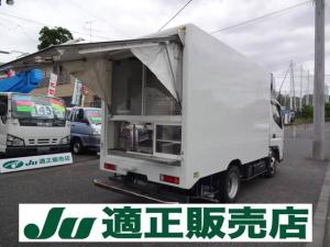 三菱ふそう キャンター 移動販売・冷蔵・冷凍車 シンク付 都条例適合