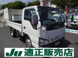 いすゞ エルフトラック フルフラットロー 3t 4ナンバー 都条例適合