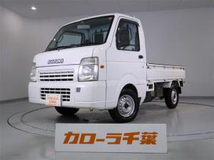 スズキ キャリイトラック FC エアコン・パワーステアリング ETC 4WD マニュアル車