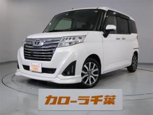 トヨタ ルーミー カスタムG-T 両側電動ドア 安全装置 ナビ ETC 保証付