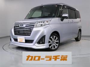 トヨタ ルーミー カスタムG-T ナビ バックモニター ETC 安全装置付