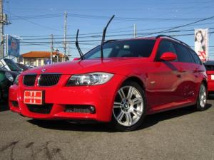 BMW 3シリーズ 320iツーリング カロッツェリアHDDナビ CD&DVDビデオ再生 AUX接続 プッシュスタート ETC パワーシート HIDヘッドライト 正規ディーラー 右ハンドル