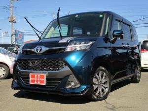 トヨタ タンク カスタムG-T 新車保証継承 純正ナビTV バックモニター Bluetooth AUX キーフリーシステム クルーズコントロール ETC ドライブレコーダー 衝突回避 両側パワースライドドア ターボ車 LEDライト