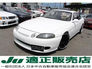 トヨタ ソアラ 2.5GTツインターボ サンルーフ 新品ブリッツ車高調