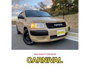 トヨタ サクシードバン U New paintトヨタベージュ4V6 各部マットブラックペイント HDDフルセグナビ Bluetooth接続可能 ETC キーレス 当社ボディーコーティング施工済み車