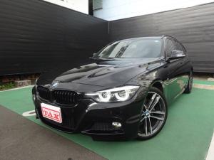 BMW 3シリーズ 320iツーリング Mスポーツ エディションシャドー ワンオーナー 禁煙車 黒本革シート REMUSスポーツマフラー