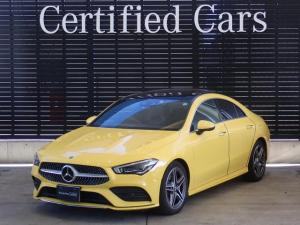 メルセデス・ベンツ CLAクラス CLA200d AMGライン レーダーセーフティパッケージ パノラミックスライディングルーフ 360°カメラ 禁煙車 認定中古車