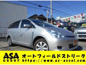 トヨタ ウィッシュ X 7人乗り キーレス CD ETC 4WD