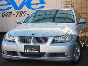 BMW 3シリーズ 325i 保証付き ETC 純正HDDナビ AUX接続 HID コンフォートアクセス・スマートキー 両側パワーシート 純正16インチAW チルト付き本革巻きハンドル オートワイパー 取説記録簿