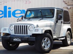 クライスラー・ジープ ジープ・ラングラー サハラ ETC 社外ナビTV CD クルコン 4WD 保証付