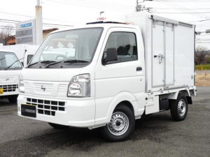 日産 NT100クリッパートラック 菱重製・軽冷凍車・2コンプ・低温・4WD・AT