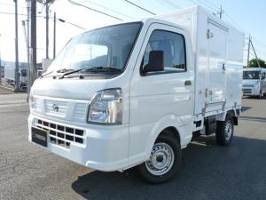 日産 NT100クリッパートラック 東プレ製・冷蔵冷凍車・中温・2WD・MT