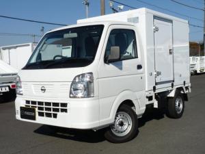 日産 NT100クリッパートラック 東プレ製・冷蔵冷凍車・中温・2WD・AT