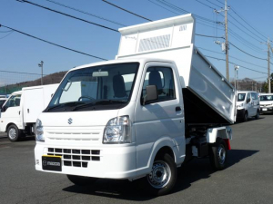 スズキ キャリイトラック 新明和製清掃ダンプ・4WD・MT・PW・キーレス