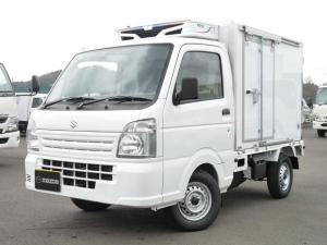 スズキ キャリイトラック レフテック製冷蔵冷凍車・低温・2WD・MT・PW・キーレス