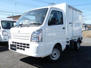スズキ キャリイトラック 保冷車・2WD・MT・PW・キーレス