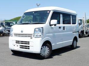 日産 NV100クリッパーバン GXターボ・2WD・AT・キーレス・エマージェンシーブレーキ