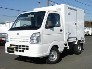 スズキ キャリイトラック 東プレ製・冷蔵冷凍車・中温・2WD・AT・PW・キーレス