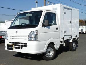 スズキ キャリイトラック  東プレ製・冷蔵冷凍車・中温・2WD・AT・PW・キーレス・助手席エアバック