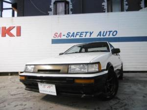 トヨタ カローラレビン GT APEX RSワタナベ 柿本マフラー タイミングベルト交換済み
