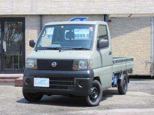 日産 クリッパートラック DX パワステ エアコン フレンチグレー CD