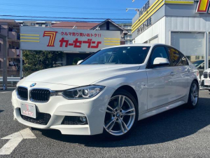 BMW 3シリーズ 320i Mスポーツ サンルーフ インテリジェントセーフティ レーンキープ パドルシフト 純正Iドライブナビ・バックカメラ 前後ドラレコ ミラーETC オートライト スマートキー2個 取説・保証書・整備手帳 ユーザー買取車