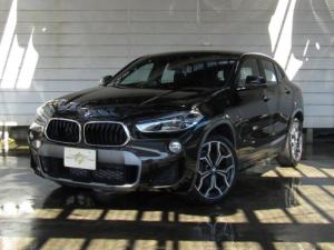 BMW X2 sDrive 18i MスポーツX コンフォートPKG(オートマチック・テールゲート・オペレーション フロント・シート・ヒーティング)Mスポーツ専用19AW 純正ナビ バックカメラ LEDヘッドライト