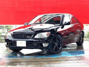 トヨタ アルテッツァ RS200 Zエディション 1オーナー ブラック外装塗/ホイール装済 ETC カロッツェリアCDチューナー SNOWモード