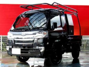 ダイハツ ハイゼットトラック ジャンボSAIIIt 届出済未使用車 HARD CARGO ナビ バックカメラ ETC MUDSTARホワイトレタータイヤ LA-STRADA Aventure14インチAW 障害物センサー USB Bluetooth