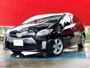 トヨタ プリウス Sツーリングセレクション ユーザー下取車 純正ナビ TV ETC ドライブレコーダー Bluetooth プッシュスタートボタン スマートキー ウィンカーミラー
