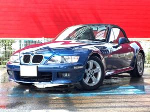 BMW Z3ロードスター 2.2i ナビ ETC ソフトトップ 電動シート MTモード 純正16AW LEDヘッドライト
