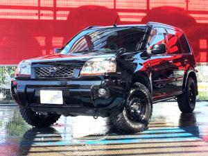 日産 エクストレイル X ブリヂストンホワイトレター 楽ナビ TV ETC カプロンシート 4WD 4WDMODEスイッチ