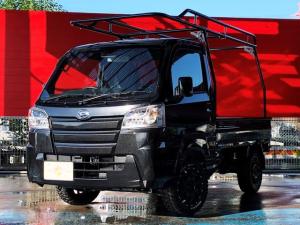 ダイハツ ハイゼットトラック スタンダードSAIIIt 届出済未使用車 JERRARD×マッドウォリアー14AW HARD CARGOキャリア カロッツェリアメモリーナビ Bluetooth ETC 障害物センサー スマートアシストIIIt 4WD
