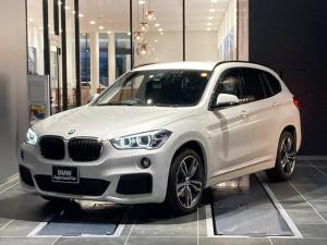 BMW X1 xDrive 18d Mスポーツハイラインパッケージ 19インチライトアロイホイール コンフォートパッケージ ヘッドアップディスプレイ アクティブクルーズコントロール 前後センサー ブラックレザーパワーシート 弊社下取1オーナー 禁煙