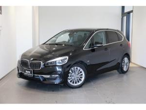 BMW 2シリーズ 218dアクティブツアラー ラグジュアリー 弊社ユーザー様下取車 禁煙車 コンフォートPKG アドバンスドセーフティー バックカメラ 前後センサー ブラックレザーシート パーキングアシスト LEDヘッドライト インテリジェントセーフティ
