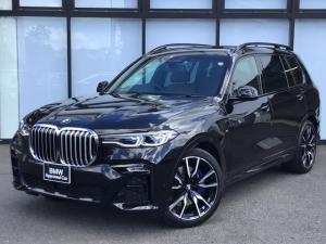 BMW X7 xDrive 35d Mスポーツ スカイサンルーフ エアサス アラートシステム  ハーマンカードン ブラウンレザースポーツ電動シート 22インチホイール ウッドトリム 4ゾーンエアコン シートマッサージャー Mブレーキ