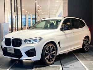 BMW X3 M コンペティション 弊社デモカー ブラックレザーシート 21インチAW  アクティブクルーズコントロール トップビューカメラ ハーマンカードンスピーカー 全席シートヒーター アダプティブLED Dアシスト