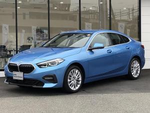 BMW 2シリーズ 218dグランクーペ プレイ エディションジョイ+ 弊社デモカー パーキングアシスト ドライビングアシスト アクティブクルーズコントロール コンフォートアクセス 前後センサー インテリジェントセーフティ 禁煙車 電動シート