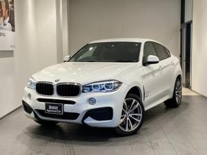 BMW X6 xDrive 35i Mスポーツ ブラックレザーシート トップビューカメラ アクティブクルーズコントロール アダプティブLEDヘッドライト シートヒーター 20インチAW ヘッドアップディスプレイ ウッドトリム 禁煙 パドルシフト