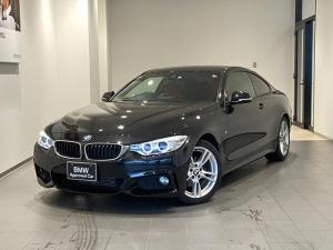 BMW 4シリーズ 420iクーペ Mスポーツ レッドレザーシート シートヒーター バックカメラ 後方センサー パドルシフト インテリジェントセーフティ 禁煙車 18インチAW 純正HDDナビ パドルシフト 社外地デジ コンフォートアクセス