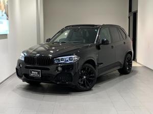 BMW X5 xDrive 35d Mスポーツ リミテッドブラック 禁煙車 1オーナー ブラックキドニーグリル ブラックホイール サンルーフ ソフトクローズドア ハーマンカードンスピーカー ブラックレザーシート 全席シートヒーター 純正ドラレコ