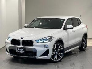 BMW X2 xDrive 20i MスポーツX 車検整備付 禁煙車 デビューパッケージ(20インチアルミ・電動シート) ヘッドアップディスプレイ アクティブクルーズコントロール バックカメラ/前後センサー Bluetooth/USB オートトランク