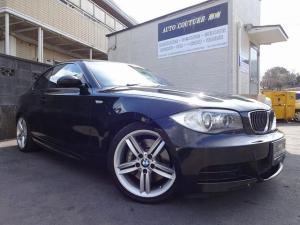 BMW 1シリーズ 135i 純正HDDナビ 黒革シート ターボ キーレスキー
