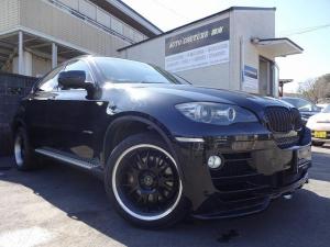 BMW X6 xDrive 35i 社外バンパー 社外20AW 純正ナビ