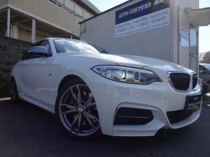 BMW 2シリーズ M235iクーペ ワンオーナー 純正HDDナビ バックモニター 黒革シート パワーシート シートヒーター パーキングサポート プッシュスタート スマートキーシステム クルーズコントロール 電子シフト